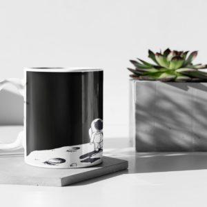 BTC Astronaut Mug