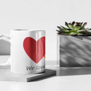 BTC Love Mug