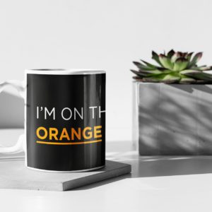 BTC Orange Pill Mug