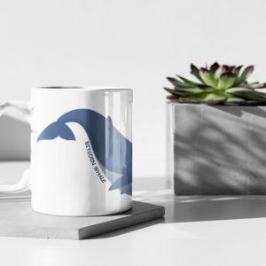 BTC Whale Mug
