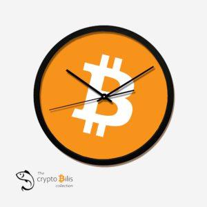 BTC Logo Clock