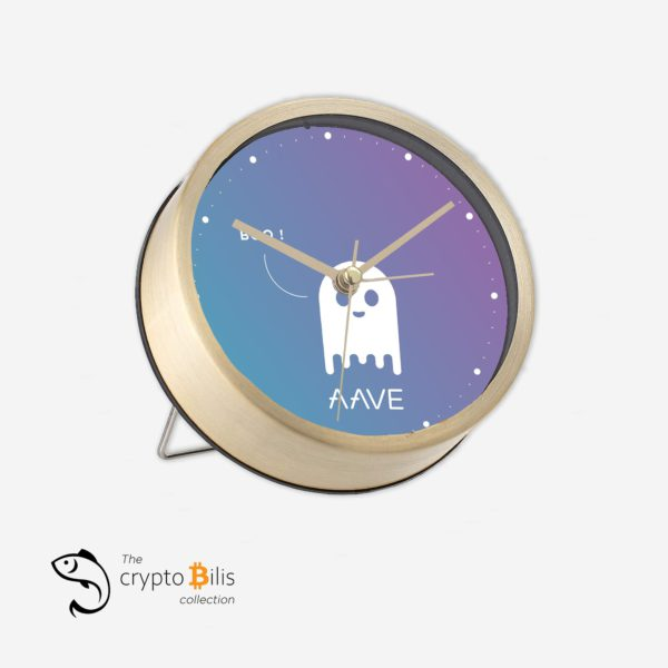 Aave Boo Table Clock