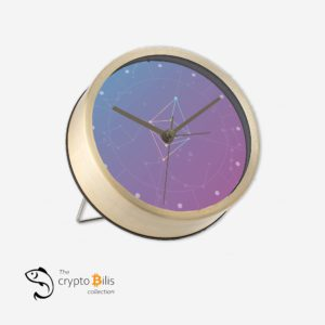 Ethereum Cosmic Table Clock