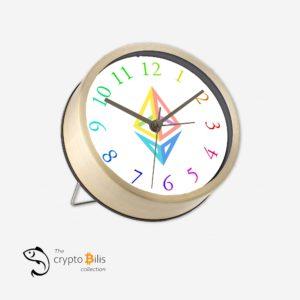 Ethereum Rainbow Table Clock